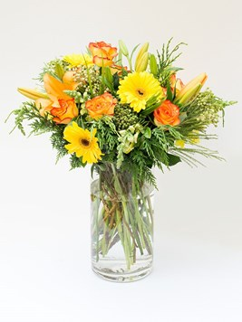 Arrangements: Sunshine in a Vase