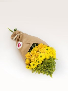 Bouquets: Arrange Your Own Yellow Bouquet